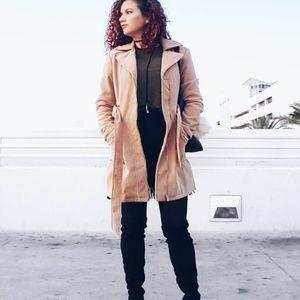 bebe.Trench Coat
